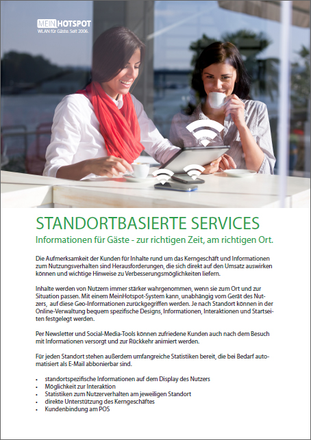 "Whitepaper zum Thema ""Location Based Services"" mit WLAN"