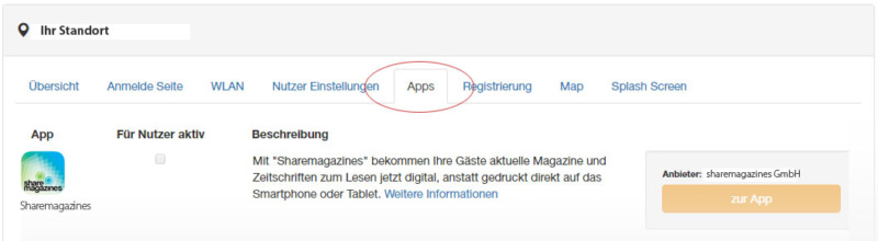 sharemagazines-app-aktivieren