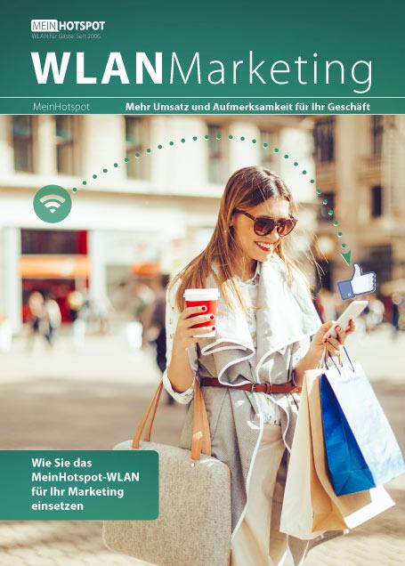 Whitepaper PDF zum Thema WLAN-Marketing. Wie man mit Gäste-WLAN den Umsatz erhöht und die Kundenbindung verbessert.